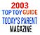 Today' Parents - S�lection 'Top Toy Guide' 2003