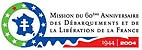 Jeu officiel de la mission du 60�me anniversaire de la lib�ration de la France