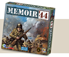 The Memoir '44 board game box