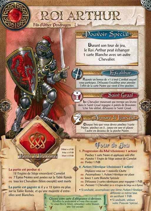 Chevaliers de la table ronde - Les chevaliers de la table ronde days of wonder ...
