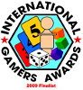 Nominiert f�r 2009 International Gamers Award