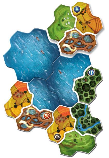 Landschaftsteile von Small World Realms