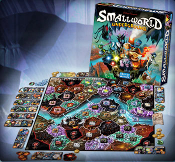 Small World Underground -  Days of Wonder