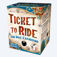 Ticket to Ride Dice Expansion