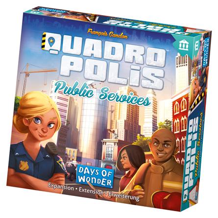 Public Services: Quadropolis -  Days of Wonder