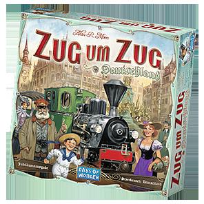 Spielschachtel von Zug um Zug Deutschland