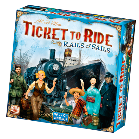 Ticket to Ride Rails and Sails -  Days of Wonder