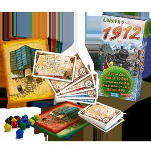 Europa 1912 Game Box