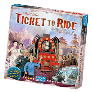 Ticket to Ride Asia Game Box