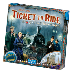 Ticket to Ride United Kingdom Game Box