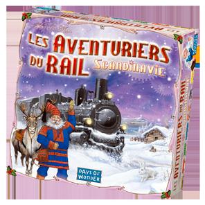 La boîte des Aventuriers du Rail Scandinavie