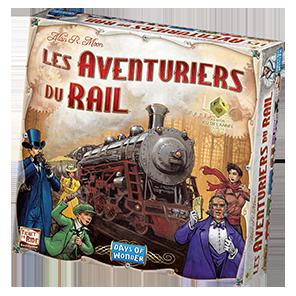 La boîte des Aventuriers du Rail